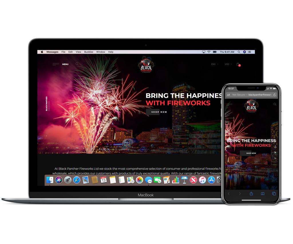 Black Panther Fireworks Ltd
