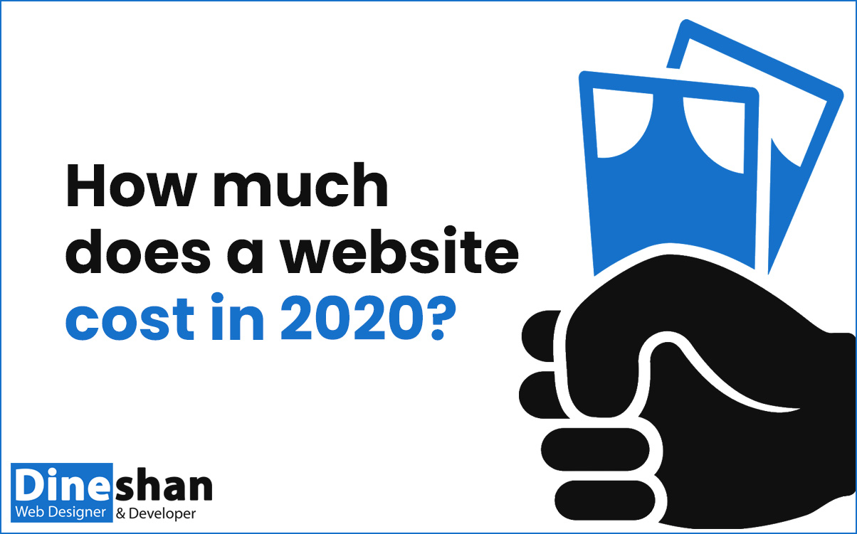 How much does a website cost in 2020 Sri Lanka