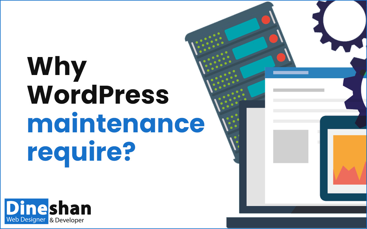why WordPress maintenance require