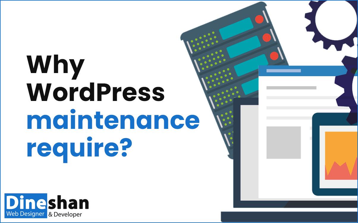 why WordPress maintenance require